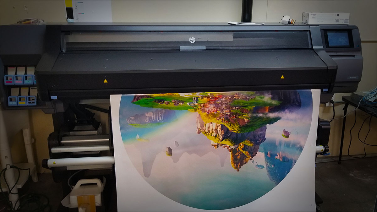 expert large format printing wall murals signs banners canvas