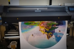 Large Format Print Chinese City