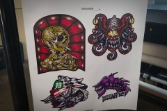 Decals Printed on HP Latex 560