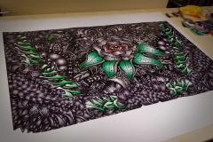 Car Wrap Print for Hood Wrap