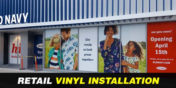 Vinyl Installation