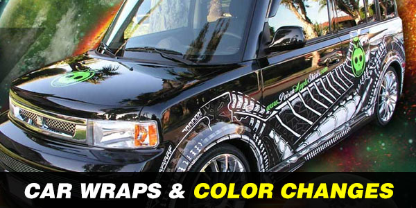 Color Change and Car Wraps